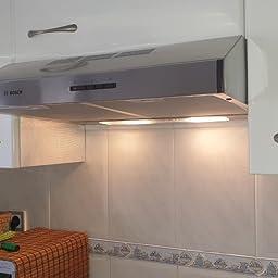 Bosch Serie 4 DUL63CC55 - Campana (350 m³/h, Canalizado, E, E, C, 72 dB): Amazon.es: Grandes electrodomésticos