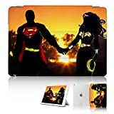 ( For iPad Air 2 ) Smart Case Cover - SMART30102 Superman Wonder Woman