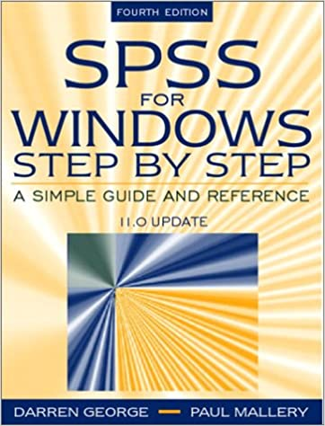 SPSS for Windows Step by Step: A Simple Guide and Reference, 11 0