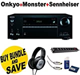 Onkyo TX-NR656 7.2 Channel Network A/V Receiver + Monster Home Theater Accessory Bundle