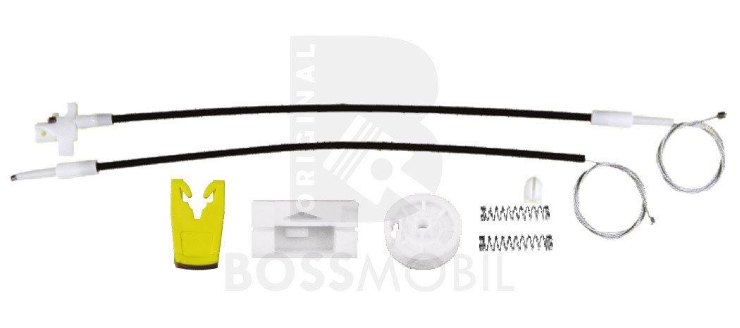 Original Bossmobil MEGAN, 4/5 portes, devant gauche, kit de ré paration du lè ve vitre kit de réparation du lève vitre