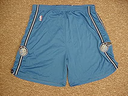 a65c84abb07 Image Unavailable. Image not available for. Color  Carlos Arroyo Orlando  Magic 2007-08 Blue Game Worn Short