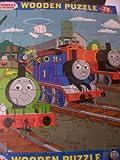 Thomas & Friends Wooden Puzzle ~ 25 Pieces (Thomas, James & Percy)