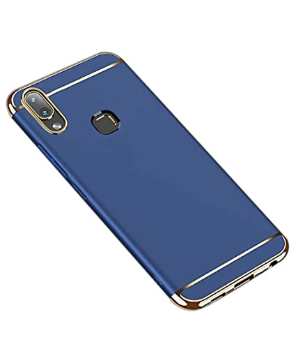 info for 7ef4f 77637 COVERBLACK 3 in 1 Back Cover for Vivo Y95-1807/1818 - Navy Blue