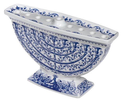 Spode Judaica Menorah by Spode