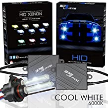 BPS Lighting® Black Series Premium AC ASIC Ballast 35w HID Xenon Conversion Kit With Quick Start Ballast Technology - Perfect to Replacement For Halogen Headlight & Fog Light - 2 Yrs Warranty / Tech Support (H7, 6000K)