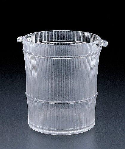 Bamboo wine- ice bucket (Acrylic)