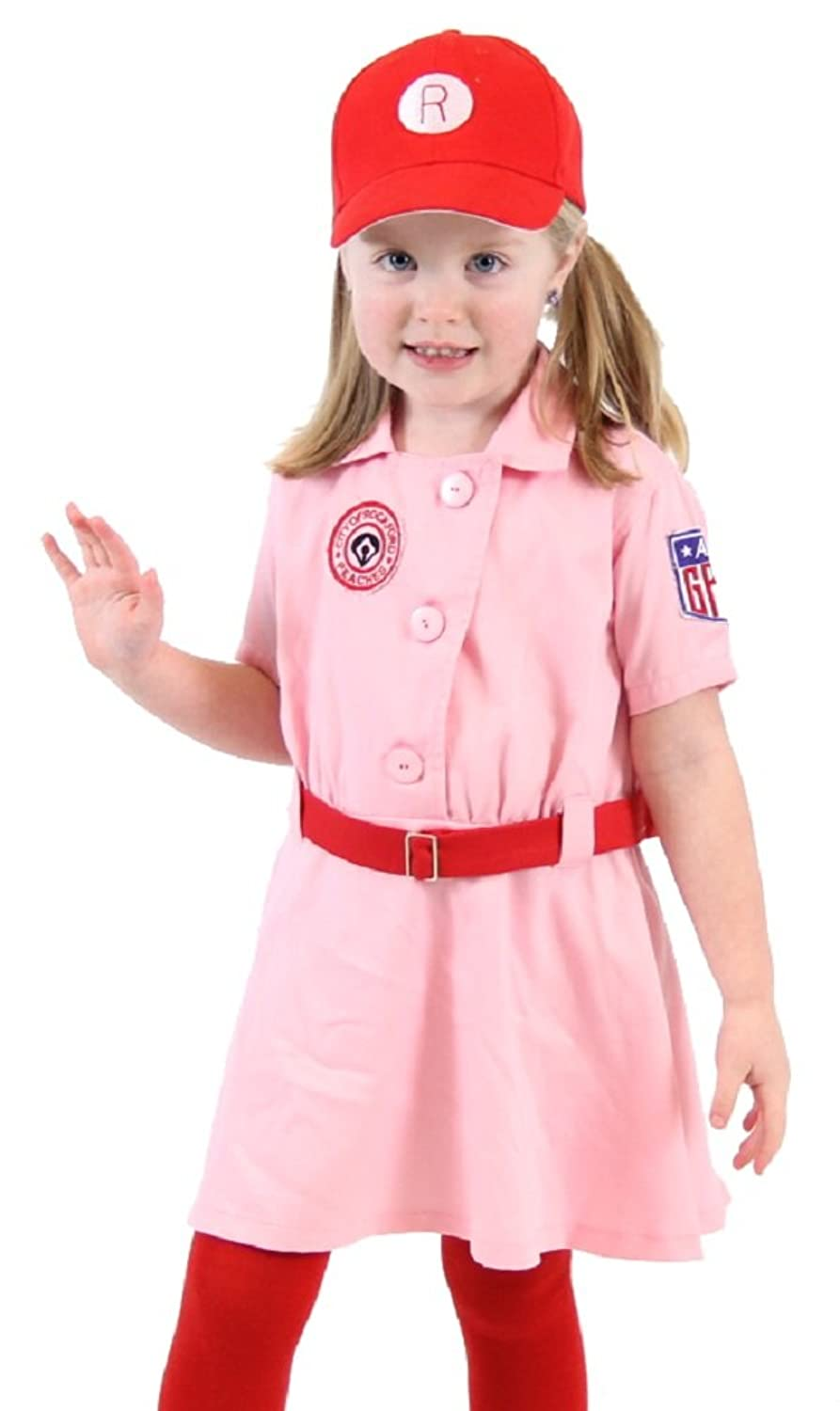 Amazon.com Rockford Peaches AAGPBL Baseball Girls Costume Dress Clothing  sc 1 st  Amazon.com : rockford peaches halloween costume  - Germanpascual.Com