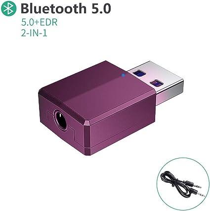 Bluetooth USB PC,Adaptador Bluetooth 5.0 USB Dongle,Bluetooth Transmisor y Receptor para PC/TV/Coche/Hogar, Auriculares, Teclado, Mouse y más(Plata): Amazon.es: Electrónica
