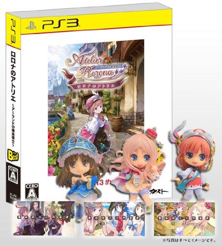 【Amazon.co.jp限定】ロロナのアトリエ PS3 the Best (オリジナルカスタムテーマ3種DLシリアル同梱)+メルルのアトリエ プレミアムフィギュアBOX B007NDJDX2