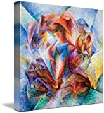 Wall Art Print entitled Dynamism Of A Soccer Player Umberto Boccioni, 1913 by Celestial Images | 25 x 24