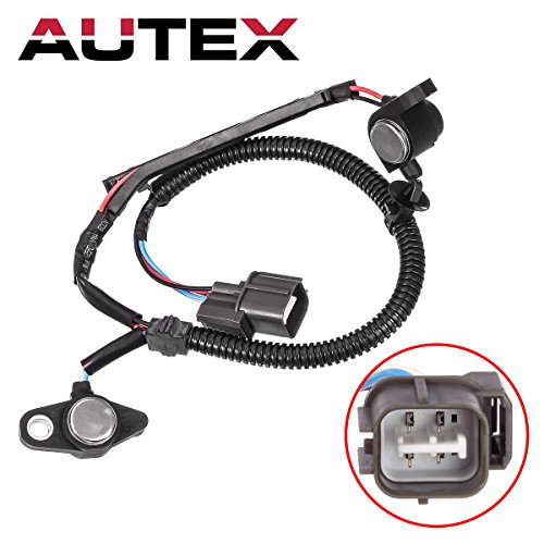 AUTEX Crankshaft Position Sensor 37840-PAA-A00 37840P0AA01 PC133 compatible with Acura CL 1997-1999/Honda Accord 1995-2002/Honda Odyssey 1996-1998/Honda Prelude 1996-2001/Isuzu Oasis 1996-1999 ()