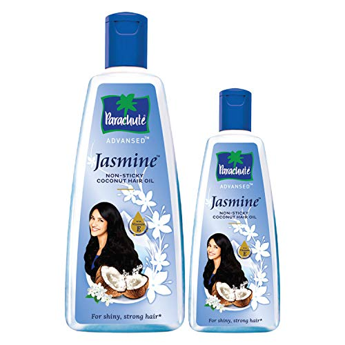 Parachute Advansed Jasmine, Coconut Hair Oil – 400 ml with Free 90 ml pack