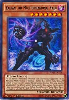 Yu-Gi-Oh! - Radian, the Multidimensional Kaiju (MP16-EN163