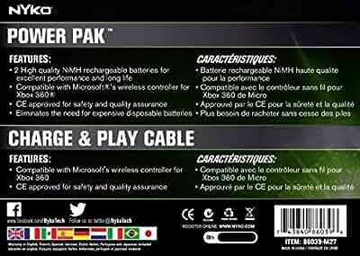 Amazon.com: Nyko 86038 Xbox 360 [TM] Power Kit: Video Games