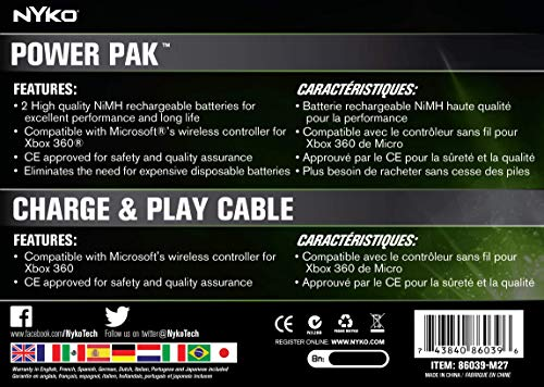 Buy microsoft xbox 360 controller battery pack