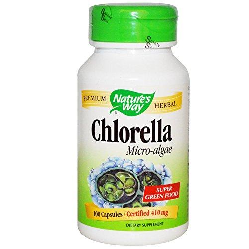 Natures Way 100 Vegetarian Capsules - Natures Way Chlorella Micro-Algae Vegetarian Capsule, 100 ct