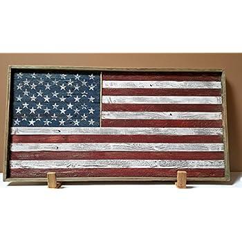 25947e624d65 Amazon.com  Antique Cloth American Flag