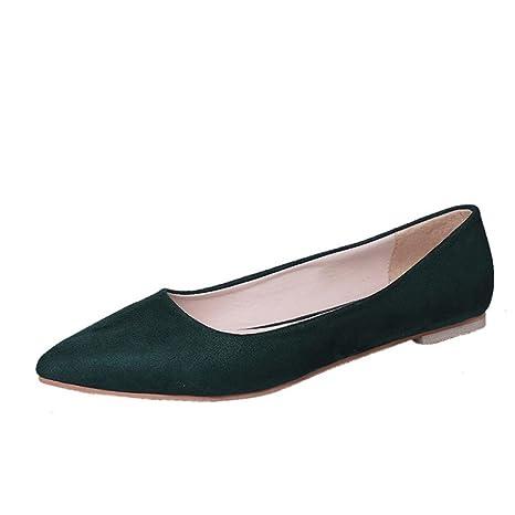 LMMVP - Zapatos de fiesta para mujer, con punta, para mujer ...