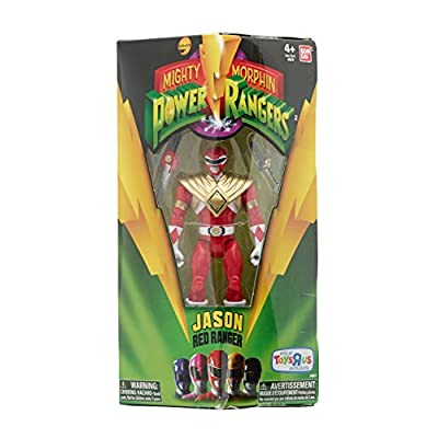Power Rangers Legacy Mighty Morphin 5-Inch Armored Red Ranger Action Figure: Toys & Games