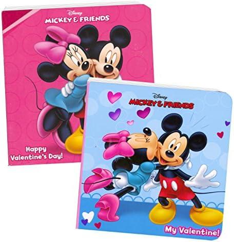 Disney Mickey Mouse Valentines Board Books (Set of 2 Chunky Mini Board Books)
