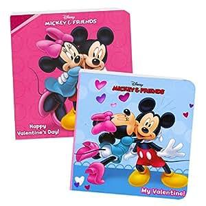 Disney® Mickey Mouse Valentine's Day Board Books (Boxed Set of 2 Chunky Mini Board Books)