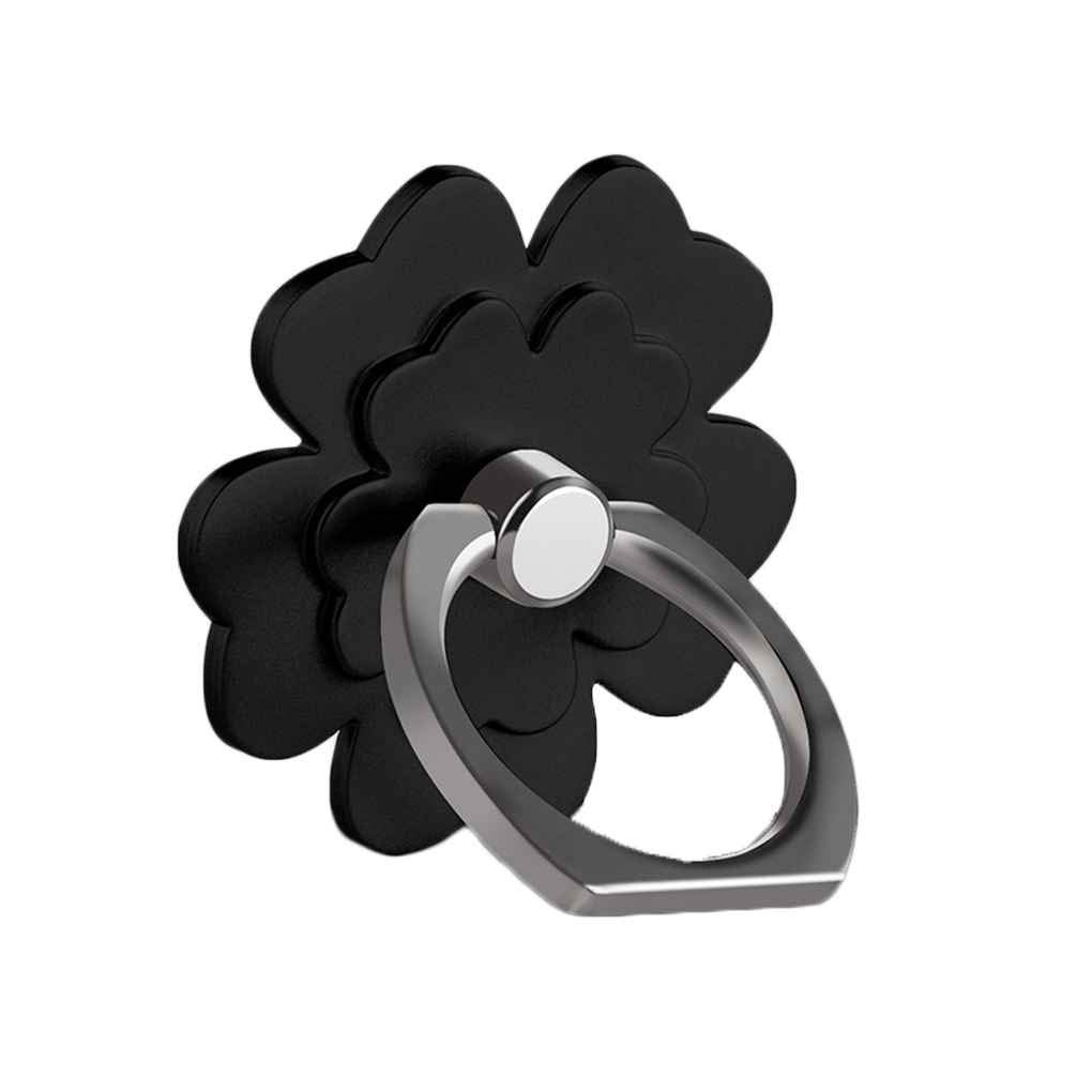 Beaums General Lucky Unique Ring Frame PC Washable Flowers Mobile Phone Support Holders Rotation Stand