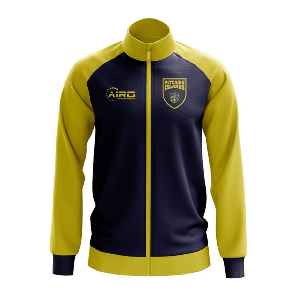 Airo Sportswear Pitcairn Islands Concept Football Track Jacket (Blau)