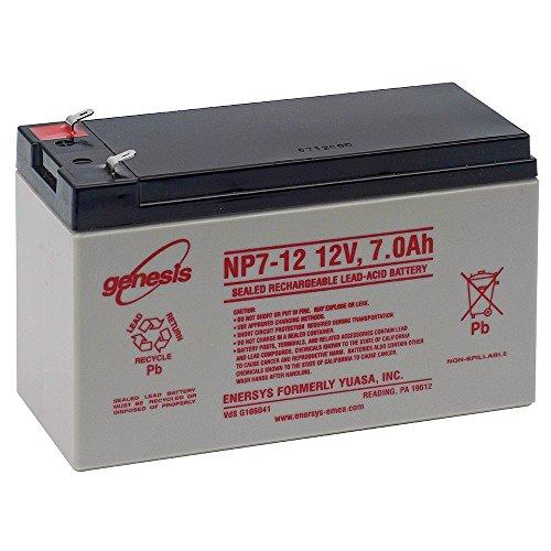 Enersys Genesis Np7 12 12V 7Ah Sealed Lead Acid Battery