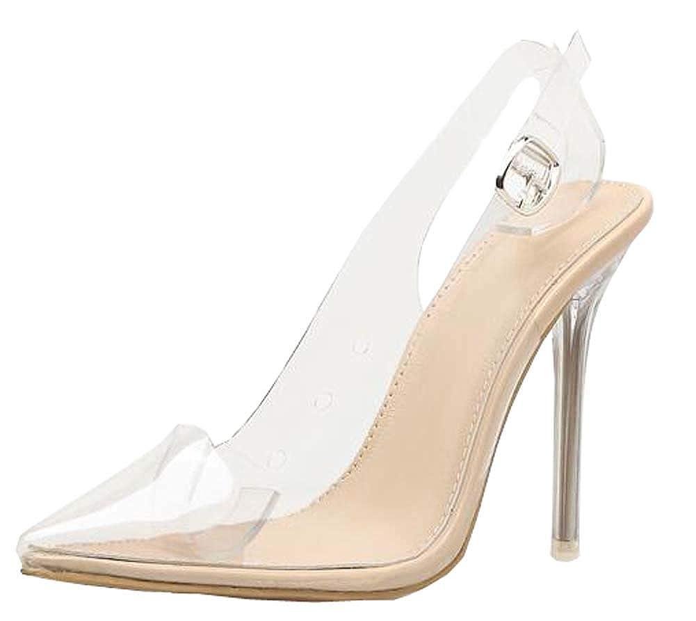 Buy QDJSYF Women Sandals PVC Pointed