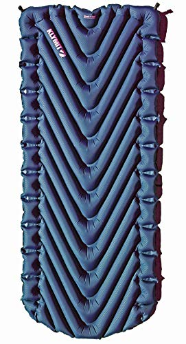 Klymit Static V Luxe Sleeping Pad for Camping, Hiking, and Backpacking (Includes Air Mattress, Stuff Sack, and Patch Kit) (Midnight Blue)