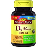 Nature Made Vitamin D3 2000 IU Tablets, 220 Ct Review