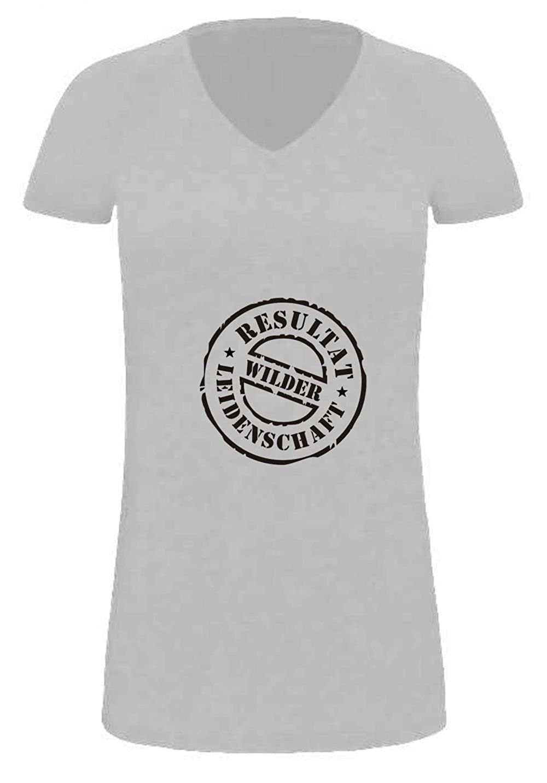 extralanges Lady T-Shirt f/ür Schwangere Finale Barcode//Umstandskleidung in 5 Farben