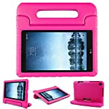 protective lg tablet case - Bolete Case for LG G Pad F2 8.0 Sprint LK460, Kids Friendly Ultra Light Weight Shock Proof Super Protective Cover Handle Stand Case for LG GPad F2 8.0 Sprint Model LK460 8-Inch Android Tablet, Rose