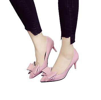 Bowknot Spitz-Spitze High Heels Mode Bequeme Frauen Sandalen Sommer Sexy Flache Mund Hochzeit Schuhe Elegante...
