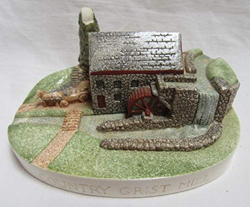Sebastian Handcast & Hand Painted Miniatures: 1984 Country Grist Mill