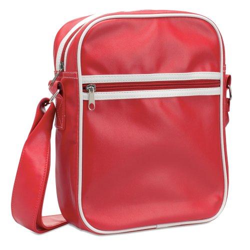 eBuy GB - Bolso al hombro para hombre Rojo