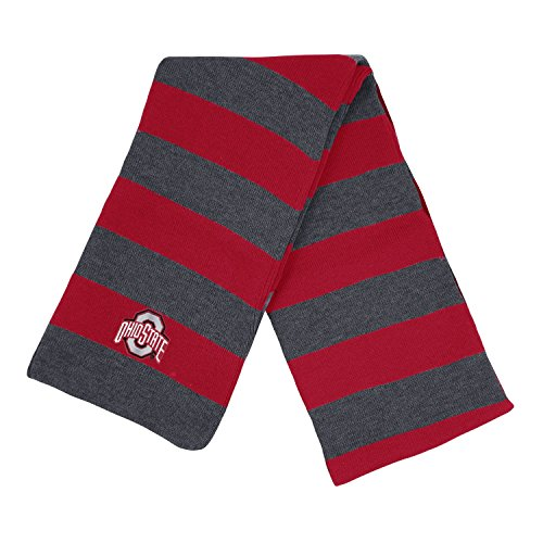 Ohio State University Knit Rugby Scarf