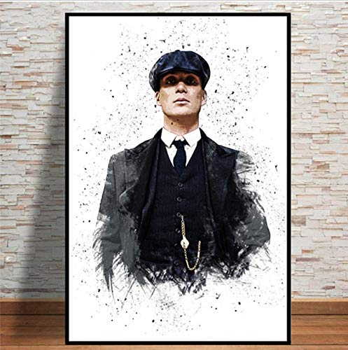 REDWPQ Arte Pintura Personaje TV Show Pop Movie Actor Poster e Impresiones Cuadros de Pared para Sala de Estar decoracion del hogar 42x60 cm sin Marco