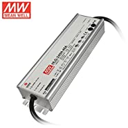 MEAN WELL HLG-240H-48A LED lighting power supply 240W 48V 5A waterproof and adjustable