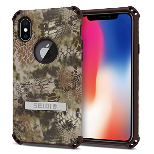 Seidio DILEX Phone Case for the Apple iPhone X (Kryptek Highlander) ()