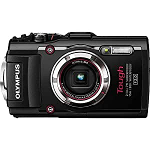 Olympus TG-3 Waterproof 16 MP Digital Camera (Black) (Discontinued by Manufacturer)