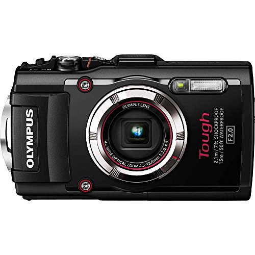 (Olympus TG-3 Waterproof 16 MP Digital Camera (Black) (Discontinued by Manufacturer))