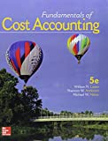 Gen Combo Fundamentals of Cost Accounting; Connect 1s Access Card 5th Edition