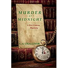 Murder at Midnight [LARGE PRINT]: A British New Year's Eve Cozy Mystery: A Rex Graves Mystery