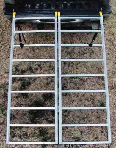 1250 lbs Load Capacity 48 x 69 Great Day Bifold Aluminum Loading Ramp ATV