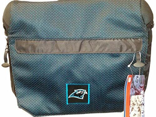 NFL Sport Messenger Bag, ''Carolina Panthers'' NEW by THE SACK