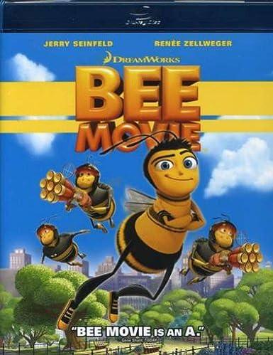 Amazon.com: Bee Movie [Blu-ray]: Jerry Seinfeld, Renée Zellweger ...