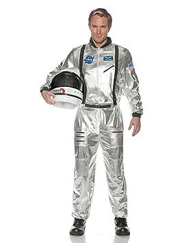 Horror-Shop Astronautas Traje de los Hombres de Plata XXL ...