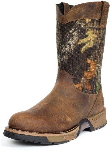 "Rocky Men's 9"" Aztec Waterproof Camo Pull-on Boots-2871 (..."